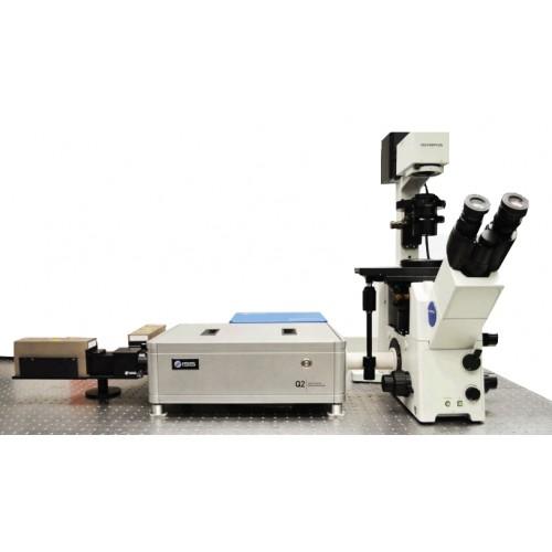 Q2. Лазерный сканирующий наноскоп для флуоресцентной корреляционной спектроскопии.