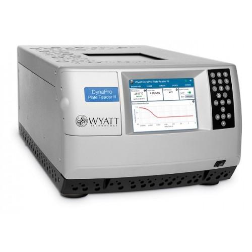 DynaPro Plate Reader III. Планшетный ридер для анализа молекулярной массы и размера.